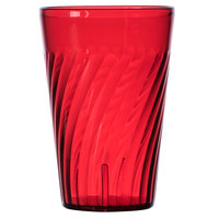 GET 2220-1-R Tahiti 20 oz. Red SAN Plastic Tumbler - 72/Case