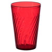 GET 2220-1-R Tahiti 20 oz. Red Customizable SAN Plastic Tumbler - 72/Case