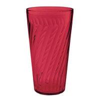GET 2232-1-R 32 oz. SAN Red Plastic Tahiti Tumbler - 72/Case