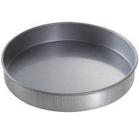 Chicago Metallic 49152 9 inch x 1 1/2 inch Aluminized Steel Round Customizable Cake Pan