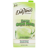 DaVinci Gourmet Intense Green Apple Real Fruit Smoothie Mix - 64 oz.