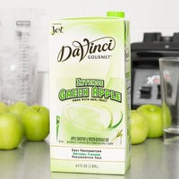 DaVinci Gourmet 64 oz. Intense Green Apple Real Fruit Smoothie Mix