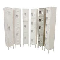 Single Column 5-Tier Locker 18 inch x 12 inch