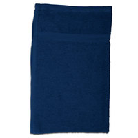 Chef Revival 700BRT-NV 16 inch x 26 inch Navy Oversized 28 oz. 100% Cotton Terry Bar Towel - 12/Pack