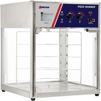 Rotating 4-Tiered Pizza Merchandiser with Four 18 inch Pizza Racks - 110V