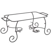Choice Wrought Iron Full Size Chafer Stand