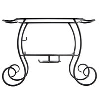 Choice Wrought Iron 1/2 Size Chafer Stand