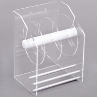 Noble Products Plexiglas Label Dispenser with 3 Disks