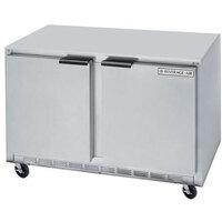 Beverage Air UCF36A 36 inch Double Door Undercounter Freezer - 8 Cu. Ft.