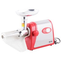 Weston 82-0102-W #5 Deluxe Electric Meat Grinder with Tomato Strainer Attachment
