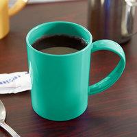 Carlisle 4306609 8 oz. Meadow Green Tritan Stackable Mug - 12/Case