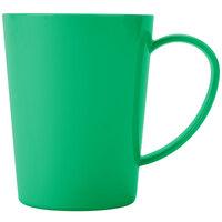 Carlisle 4306809 12 oz. Meadow Green Tritan Nesting Mug - 12/Case
