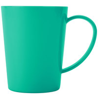 Carlisle 4306809 12 oz. Meadow Green Tritan Nesting Mug - 12/Case