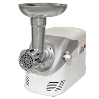 Weston 82-0103-W #5 Deluxe Electric Meat Grinder with Shredder/Slicer Attachment
