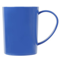 Carlisle 4306614 8 oz. Ocean Blue Tritan Stackable Mug - 12/Case