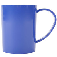 Carlisle 4306614 8 oz. Stackable Ocean Blue Tritan Mug - 12/Case