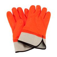 Textured PVC Coated Frozen Food Glove
