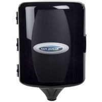 San Jamar T410TBK Adjustable Centerpull Towel Dispenser - Black Pearl