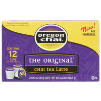 Oregon Chai, Chai Tea Latte Single Serve Cups - 12/Box