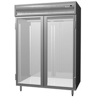 Delfield SMR2-G 52 Cu. Ft. Two Section Glass Door Reach In Refrigerator - Specification Line