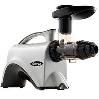 Omega NC800HDS Silver Masticating Juicer - 120V, 150W
