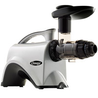 Omega NC900HDC Chrome Masticating Juicer - 120V, 150W