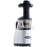 Omega VRT370HDS Silver Vertical Masticating Juicer - 120V, 150W