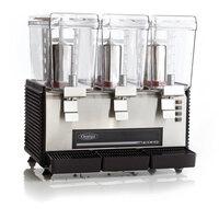 Omega OSD30 Triple 3 Gallon Bowl Refrigerated Beverage Dispenser