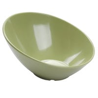 GET B-790-AV Diamond Harvest 1.9 Qt. Avocado Cascading Melamine Bowl - 6/Case