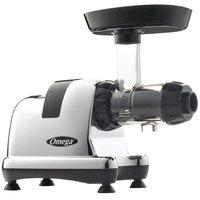 Omega J8008C Chrome Masticating Juicer - 120V, 150W