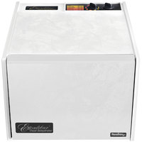 Excalibur 3926TW White Nine Rack Food Dehydrator with Timer - 600W