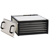 Excalibur D500SHD Stainless Steel Five Rack Food Dehydrator with Stainless Steel Racks - 440W