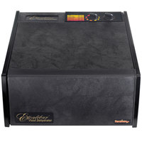 Excalibur 3526TB Black Five Rack Food Dehydrator with Timer - 440W