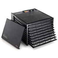 Excalibur 3926TB Black Nine Rack Food Dehydrator with Timer - 600W