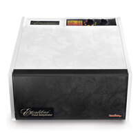 Excalibur 3526TW White Five Rack Food Dehydrator with Timer - 440W