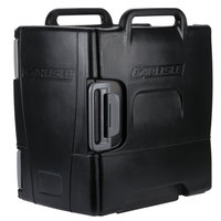 Carlisle IT40003 Cateraide™ IT Onyx Black Front Loading Insulated Food Pan Carrier - Holds 6 Pans