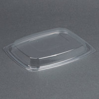 Dart Solo C64DDLR ClearPack Clear Snap-On Dome Lid for 30, 48, and 64 oz. Plastic Containers - 252/Case