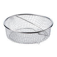 Matfer Bourgeat 013230 Steamer Basket for 14 Qt. (13 Liter) Stainless Steel Pressure Cooker