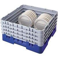 Cambro CRP6345186 Blue Full Size PlateSafe Camrack 4-5 inch
