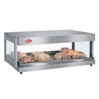 Hatco GRSDH-60 Glo-Ray 60 inch Horizontal Single Shelf Merchandiser - 120/208V