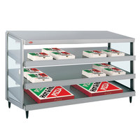 Hatco GRPWS-4824T Glo-Ray 48 inch Triple Shelf Pizza Warmer - 3585W