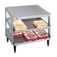 Hatco GRPWS-2424D Glo-Ray 24 inch Double Shelf Pizza Warmer - 1200W
