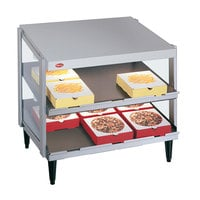Hatco GRPWS-4818D Glo-Ray 48 inch Double Shelf Pizza Warmer - 1920W