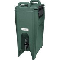 Cambro UC500192 Ultra Camtainers® 5.25 Gallon Granite Green Insulated Beverage Dispenser
