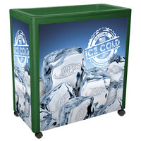 IRP Green Avalanche 300 Mobile 112 Qt. Cooler Merchandiser