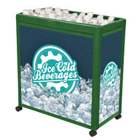 IRP Green Avalanche 300 Mobile 112 Qt. Cooler Merchandiser