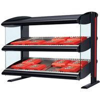 Hatco HXMH-48D LED 48 inch Horizontal Double Shelf Merchandiser - 120/208V