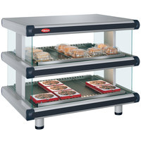 Hatco GR2SDH-48D Glo-Ray Designer 48 inch Horizontal Double Shelf Merchandiser - 120/240V