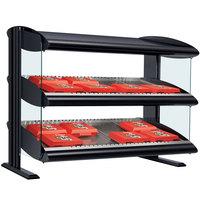 Hatco HXMS-36D LED 36 inch Slanted Double Shelf Merchandiser - 120/208V