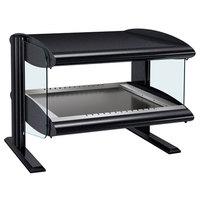 Hatco HZMH-24 Black 24 inch Horizontal Single Shelf Heated Zone Merchandiser - 120V
